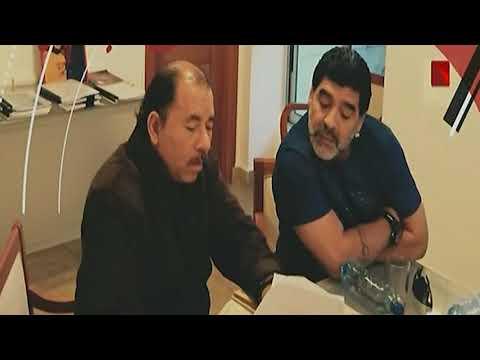 Diego Maradona se solidariza con Nicaragua y con el comandante Daniel