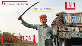 2 foreigner in Bollywood || 2021 Compilation #1  || Trending || Best funny Video