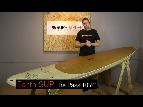 "SUP Review – Earth SUP  The Pass 10'6"" / Wooden Veneer SUP"