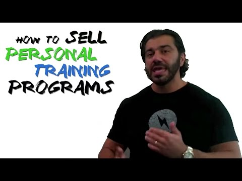 How to Sell Personal Training Programs - YouTube