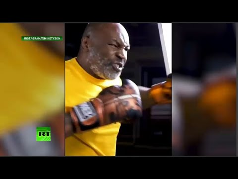 WATCH: Mike Tyson trains, fight is set!