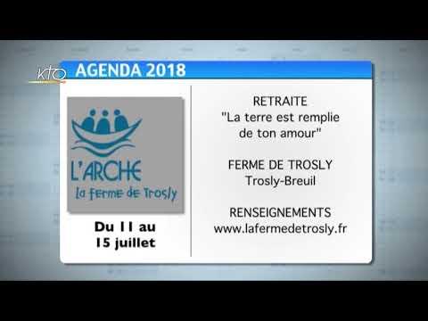 Agenda du 9 juillet 2018