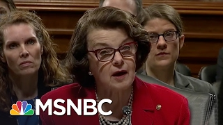 Senator Dianne Feinstein: We Need 'Independent' Attorney General | MSNBC thumbnail