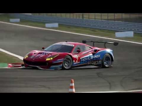 Ferrari 488 GT3 Setup + Hotlap - Brands Hatch - смотреть