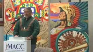 Artist Ron Rocha On Indigenous Aztec Art