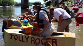 A Day at the Cardboard Boat Races