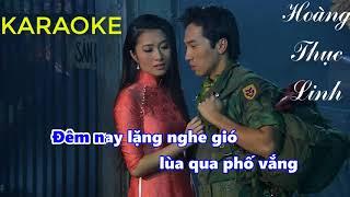 [Karaoke] Tàu Đêm Năm Cũ - Hoàng Thục Linh