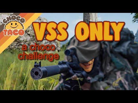 一拿到VSS就可以殺全場,真的很強