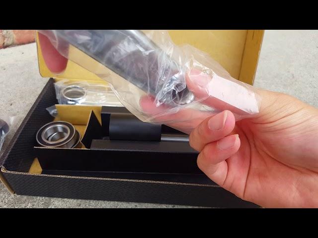 Видео Шатуны Federal Vice V2 24mm черные