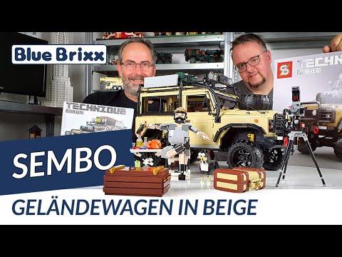 Beiger Geländewagen