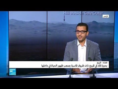 العرب اليوم - شاهد:اكتشاف بحيرة للماء السائل على المريخ للمرة الأولى