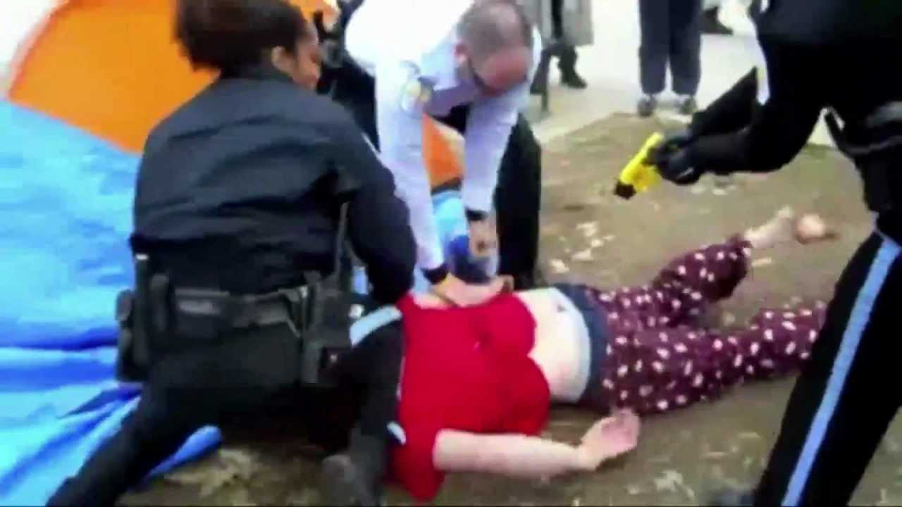 Occupy DC Protester Tased & Overnight Camping Ban thumbnail