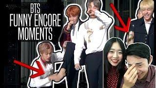 BTS Funny Encore Moments   Couple Reaction