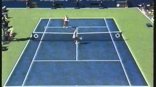Mary Pierce Vs Amelie Mauresmo US Open Quarter Final 2005