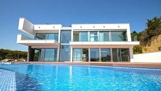 Вилла в Морайре 2016 года постройки, недвижимость в Испании на первой линии моря