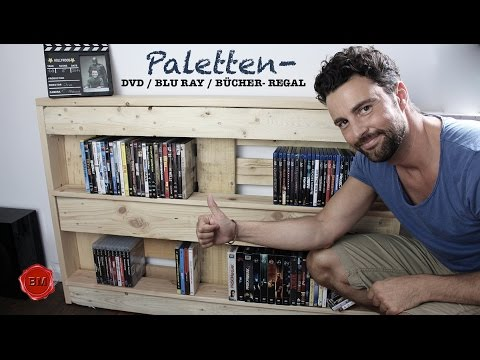 PALETTEN- DVD/BluRay/Bücher-Regal TUTORIAL I Ben's Mission
