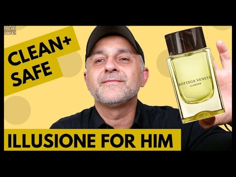 Bottega Veneta Illusione For Him Fragrance Review | Clean + Safe Fragrance Perfect For Office Wear