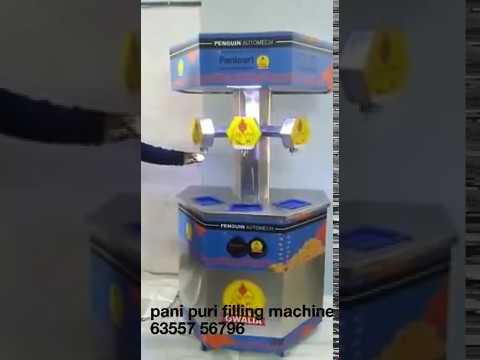 Penguin Eng Automatic Pani Puri Making Machine