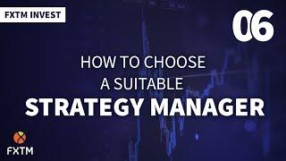 Cómo elegir un gestor de estrategias adecuado