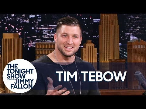 "Tim Tebow Discusses the Elaborate Way He Proposed and His ""Night To Shine"" Program"