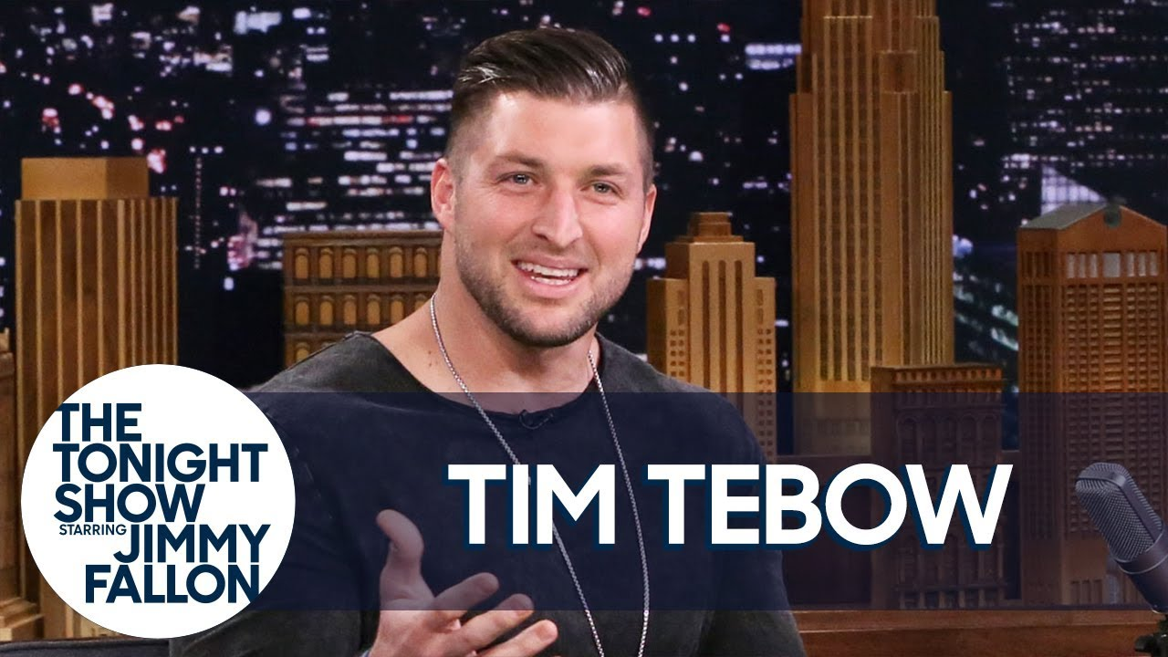 """Tim Tebow Discusses the Elaborate Way He Proposed and His """"Night To Shine"""" Program thumbnail"""