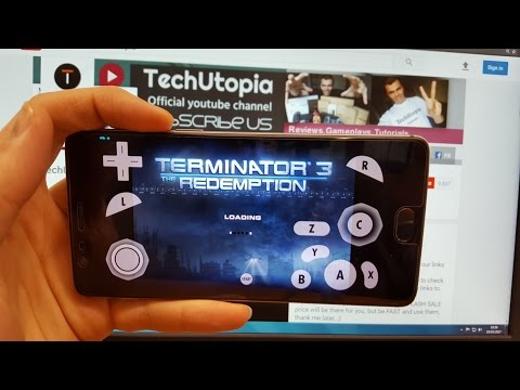 gamecube for ios- Terminator 3 The Redemption (Boot Test