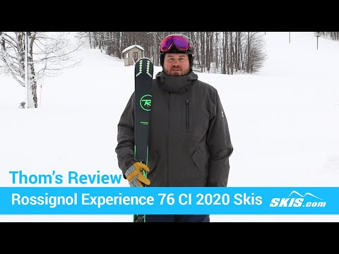 Video: Rossignol Experience 76 CI Skis 2020 20 40