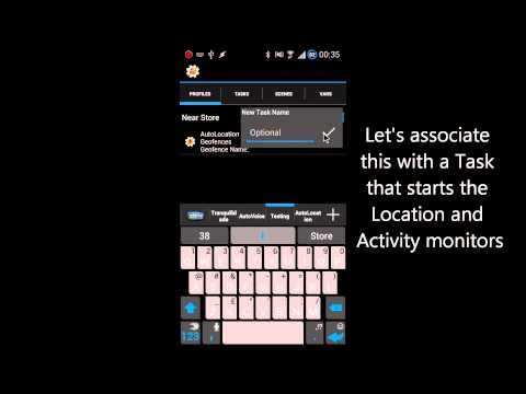 Video of AutoLocation