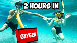 Last to Breathe Underwater WINS $10,000