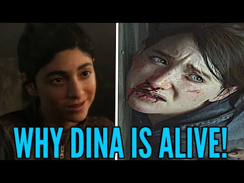 The Last of Us 2: WHY DINA IS ALIVE - (The Last Of Us Part 2)