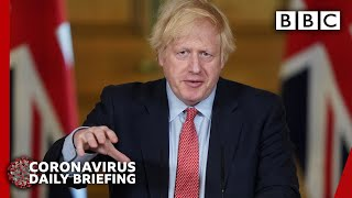 Loved ones can meet again outdoors - Boris Johnson | Covid-19 Government Briefing 🔴 BBC