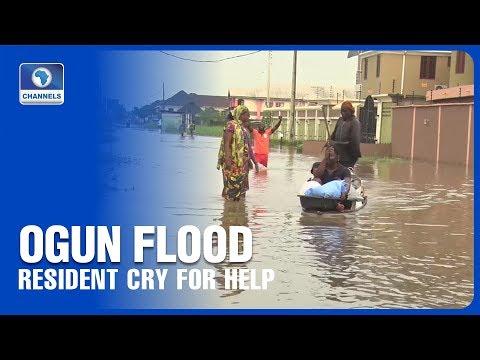 Resident Cry For Help As Ogun River Breaks It's Banks
