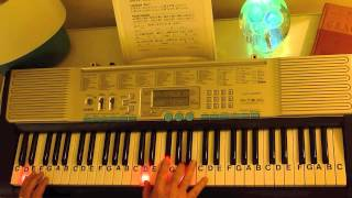 How to Play ~ The Entertainer ~ Scott Joplin ~ LetterNotePlayer ©