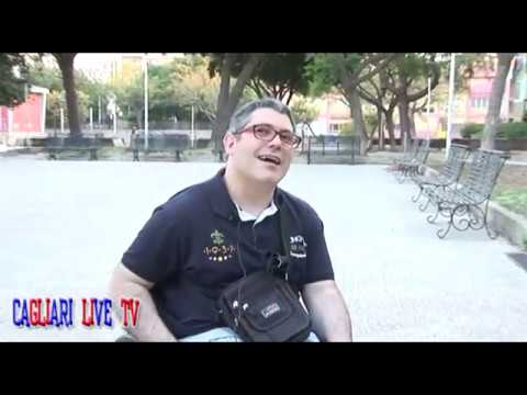 Preview video MARCO GIRAU : La Piazza di Via Quirra è pericolosa per chi si muove sulla sedie a rotelle