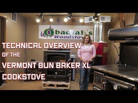 Vermont Bun Baker XL Cook Stove - Technical Overview