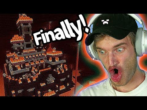 I found a Nether Castle in Minecraft!