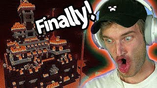 I found a Nether Castle in Minecraft! - Part 12
