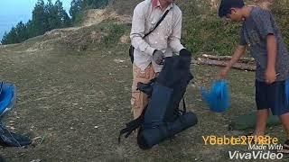 preview picture of video 'Buntu bebo sangalla ( pemasangan tenda)'