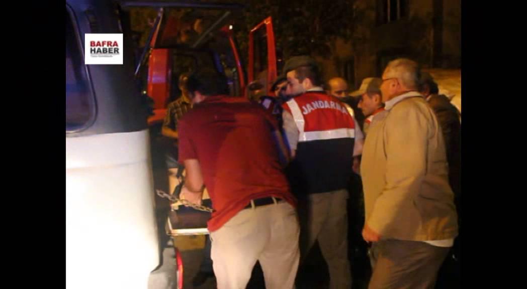 Bafra'da trafik kazası: 2 ölü