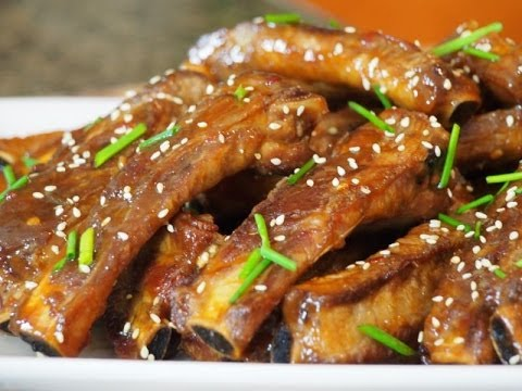 Asian Inpired Fried Pork Ribs Recipe!