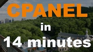 Learn CPANEL in 14 Minutes!