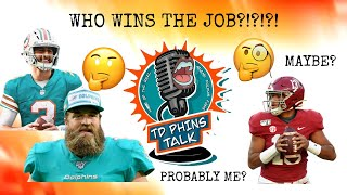 Miami Dolphins QB Situation Explained. Fitz, Tua, Rosen All Have A Fair Shot! But One Not So Much!