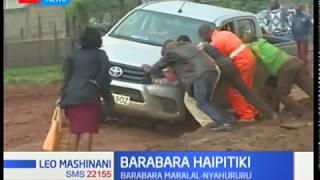 Wakazi wa Maralal waitaka serikali  kushughulikia suala la barabara ambayo imeathiri usafiri pakubwa