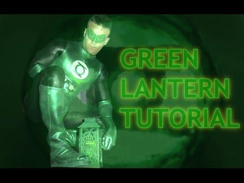 [Green Lantern]  Lintera verde disfraz COSTUME TUTORIAL  (DIY)