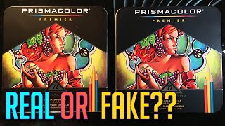 How To Spot Fake Prismacolor Pencils
