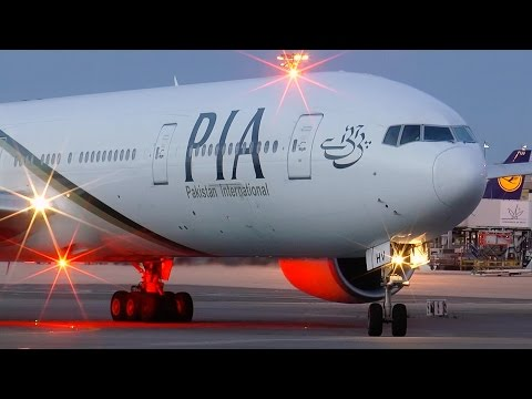 Boeing 777-300ER PIA - GE90 Engine Start! Paris Charles de Gaulle Airport