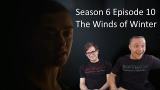 """Game of Thrones Reaction Season 6 Episode 10 """"The Winds of Winter"""" S06 E10"""