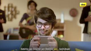 IDEA 4G NEW AD ON Dekho Bejhijhak and Jeeto Bejhijhak with Idea Unlimited Rechares