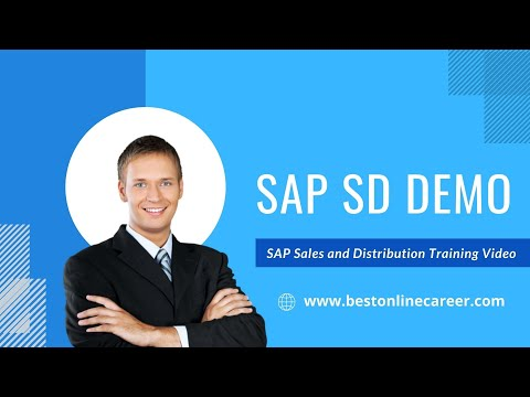 SAP SD Online Training   SD Training Video   SAP Sales and ...