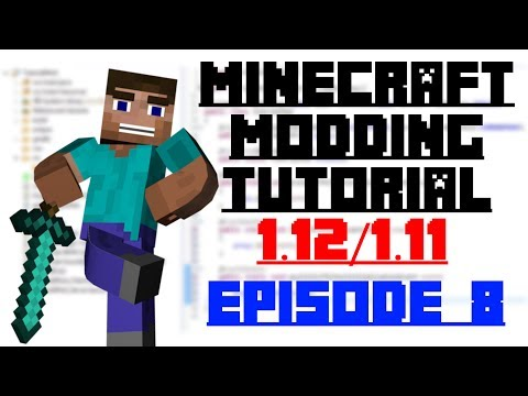 Custom Crafting and Smelting - Minecraft Modding 1.12 - Episode 8 (Outdated)